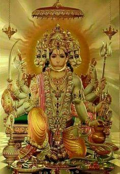 Panchmukhi Hanuman Ji.