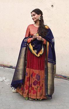 Sonam Kapoor In Gaurang Shah for Prem Ratan Dhan Payo