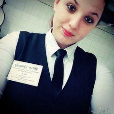 Waitresses In Uniform With Black Tie | Karla | Flickr