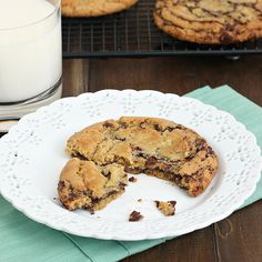 Tracey's Culinary Adventures: Thousand-Layer Chocolate Chip Cookies
