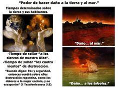 Los siete sellos de Apocalipsis. PowerPoint. Veintitrés diapositivas.