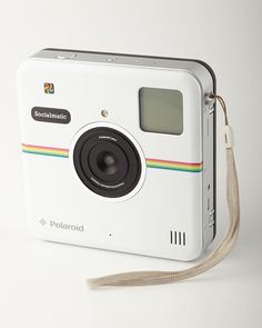 Polaroid White Digital Camera