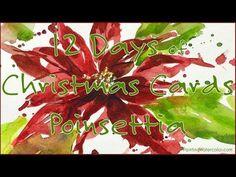 12 Days of Christmas Cards, Poinsettia