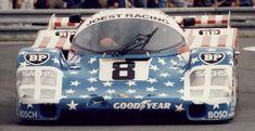1986 3rd: Joest Racing 956-104 (Turbo 2.6) #8 George Follmer/John Morton/Kenper Miller - Stuttcars.com