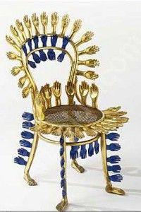-Pedro Friedeberg- 'centipede chair' (ca.1970´s)
