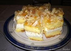 pl :: Ciasto z serków Danio Polish Recipes, Waffles, Gem, French Toast, Cheesecake, Food And Drink, Cooking Recipes, Sweets, Cookies