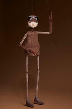 Hand Built Artisan Marionette Puppet