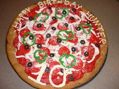 Chocolate Chip Cookie Pizza  on Cake Central
