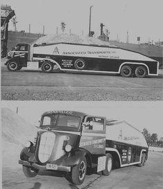 1935 Studebaker car carrier