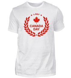 Kanada T-Shirt Mens Tops, Fashion, Canada, Cotton, Moda, Fashion Styles, Fasion