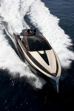 Speed, opulence and style encompassed in the Hedonist luxury yacht by Art of Kinetik. http://hiconsumption.com/2012/12/hedonist-luxury-yacht-by-art-of-kinetik/ #Travel #Sea #Yacht