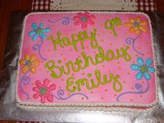 Girls Cake Birthday Cake Fast And Easy Cake Very Cute