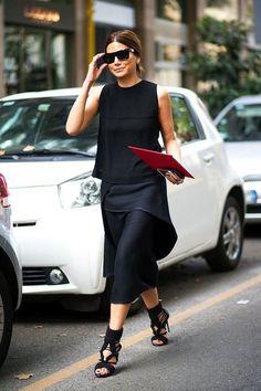 Street Style: Get Christine Centenera's All-Black Look   Le Fashion   Bloglovin'