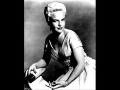 Peggy Lee---Lover
