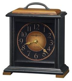 Howard Miller Morley Mantel Clock with Quartz, Battery-operated Dual-Chime, Westminster or Beethoven chimes