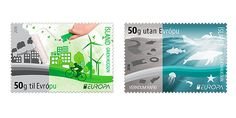 EUROPA Stamps 2016 : Think Green – Island