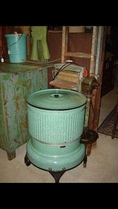 Vintage green washer- be still my <3!!