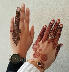 People having interest in fashion are much inclined towards the mehndi designs. If you are among beginners and love to try out different mehndi patterns and motifs then these easy mehndi designs are just perfect for you. Finger Henna Designs, Henna Art Designs, Mehndi Designs For Girls, Mehndi Designs 2018, Mehndi Designs For Beginners, Modern Mehndi Designs, Mehndi Designs For Fingers, Wedding Mehndi Designs, Mehndi Design Pictures