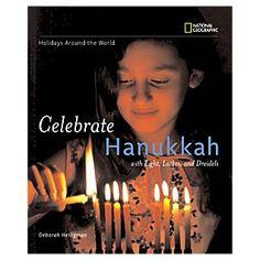 Celebrate Hanukkah Deborah Heiligman http://www.bookscrolling.com/the-28-best-hanukkah-books/ #besthanukkahbooks #bookscrolling