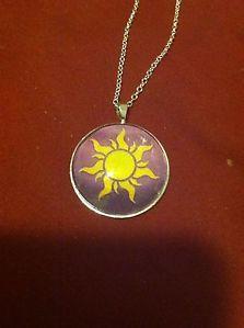 Disney Tangled Sun necklace