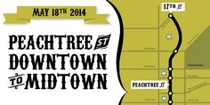 Atlanta Streets Alive 2014: Peachtree Street (May 18)