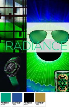 Pantone 2013 Color of the Year: Emerald - Radiance Palette