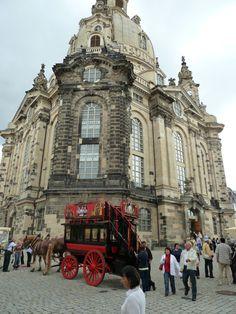 The re-built city centre
