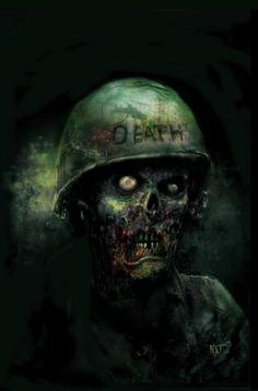 68 by Nat Jones This comic looks rad. Walking dead in the Vietnam War. Yes please.