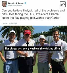 The hypocrisy runs strong in the Donald Trump.  He certainly has no intention of keeping his verbal contract with the American people.