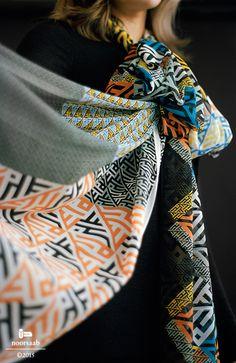 noorsaab | Lookbook 07 | Camus & Menuhin luxury silk scarves