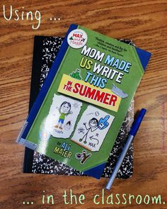 Mentor text for analyzing perspectives, character traits, compare/contrast, and to kick start journal writing.