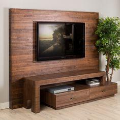 o placa de lemn care sa depaseasca consola tv