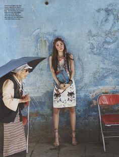 vogue korea july 2014 A Nomad in Tibet by kim young jun 8 Vogue Coréia Julho 2014 | Jin Jung Sun por Kim Young Jun  [Editorial]