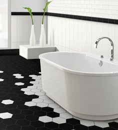 On aime la possibilité de créer des patterns sur le plancher   Céragrès - EXTRO