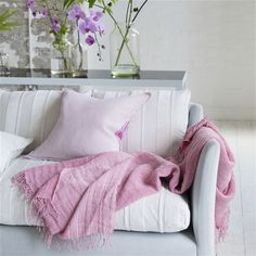 filato peony blanket - 130x190cm