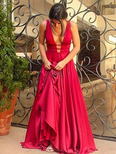 Simple Elegant Long Evening Dress Long Prom Dress Red Prom Dress 2017 Prom Dresses Fashion Prom Dress Sexy Party Dress Custom Made Evening Dress Ulass Online Store Open Back Prom Dresses, Simple Prom Dress, Backless Prom Dresses, A Line Prom Dresses, Cheap Prom Dresses, Satin Dresses, Sexy Dresses, Dresses Uk, Long Dresses