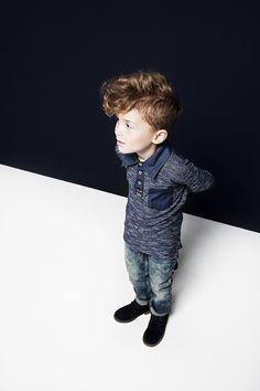 Poloshirt Otto & Jeans Otto     Noppies kids Fall Winter 2015 collection     #noppies #kidsfashion #coolkids #boys #girls #kids #fw15 #poloshirt #jeans     www.noppies.com