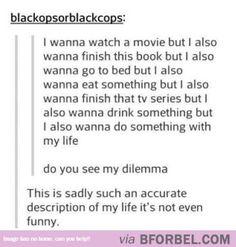 Dilemma Of Life…