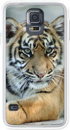 #Tiger 001 #Phone Case for Samsung Galaxy S5 #JAMFoto #TheKase.com