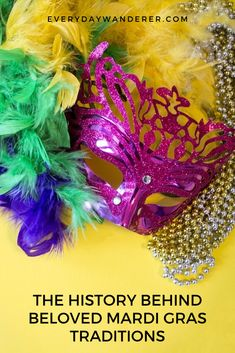 It's Mardi Gras season in New Orleans! But do know the fascinating history behind king cake, Mardi Gras beads, and these other beloved Mardi Gras traditions? Mardi Gras Float, Pagan Festivals, Mardi Gras Parade, Mardi Gras Decorations, Mardi Gras Beads, Three Wise Men, Easter Traditions, United States Travel, Travel Usa