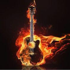 #guitare #cover #fire #drum #rock #metal #death #heart