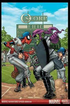 Spiderman / Green Goblin