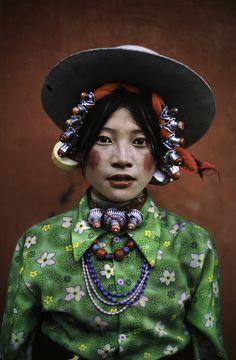 Poto : Steve McCurry. Faces of Tibet