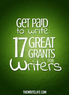 Ready to apply for money to fund your writing? Here is our epic list of grants for writers based in the United States.