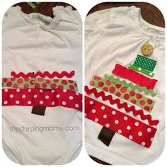 the chirping moms: Two Simple Ways to Make Christmas Shirts