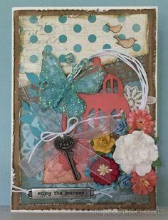 Enjoy the Journey - Birthday Card www.inspiredpapercrafts.com