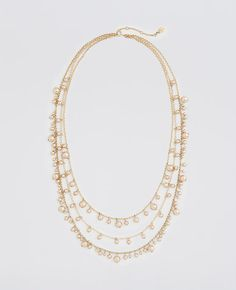 Pearlized Layered Necklace
