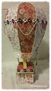 Mongolfiera... balloon 3d