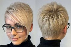 Angelica Short Hairstyles - Picture Gallery