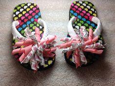 Korker Decorated Flip Flops Toddler on Etsy, $12.00